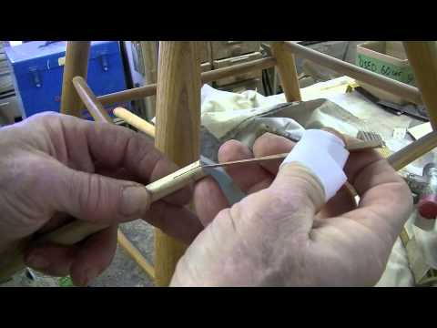 Recreating a Spindle for a Contemporary Windsor Chair – Thomas Johnson Antique Furniture Restoration
