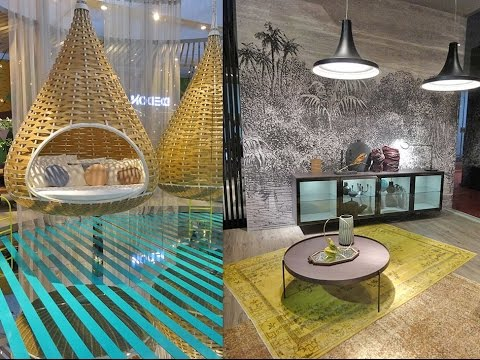 Decoration Trends 2017-2018: Milan Furniture Fair