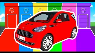 Car Colors for Kids - Learning Educational Video & Learn Vechi...