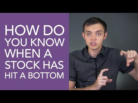 Video How Do You Know When a Stock Hit a Bottom? download in MP3, 3GP, MP4, WEBM, AVI, FLV January 2017