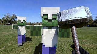 Minecraft Real Life THOR