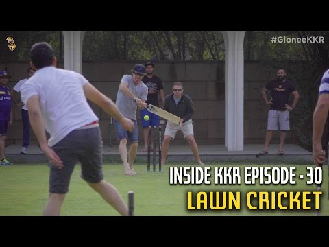 Lawn Cricket | Inside KKR - Episode 30 | VIVO IPL 2016