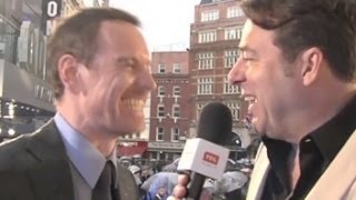 Michael Fassbender talks X-Men Bromance