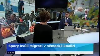 Spory kvůli migraci v německé koalici