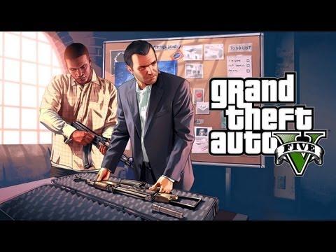 Video Grand Theft Auto V: