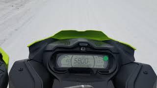5. 2020 Ski-doo New Gauge - Renegade 900 Ace Turbo