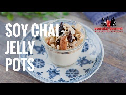 Soy Milk Chai Jelly Pots | Everyday Gourmet S7 E13