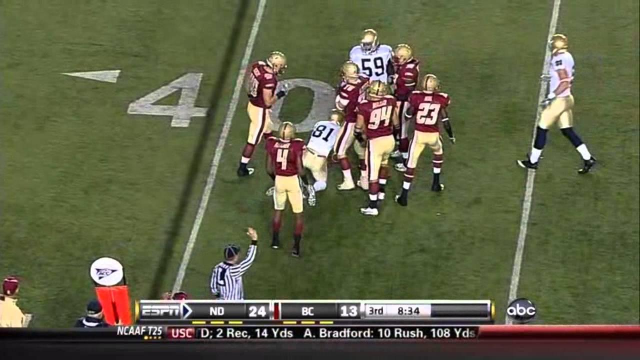 Donnie Fletcher vs Notre Dame and Clemson