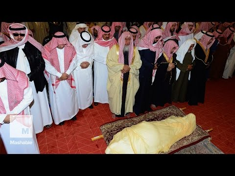 al - Saudi Arabia's newly enthroned King Salman led prayers for King Abdullah in Riyadh ahead of his burial this afternoon. King Abdullah died early on Friday at the age of 90 after nearly two...