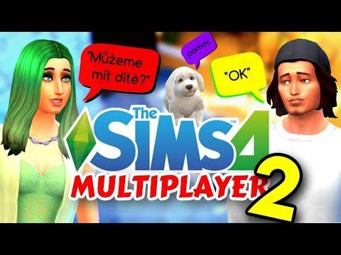 😲 THE SIMS 4 MULTIPLAYER ONLINE CZ (2. část) 🙌 | Hrajte s přáteli! (S DEFI 😍)