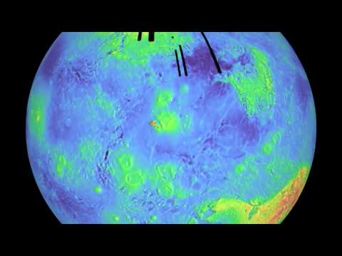 Rotating Venus Map