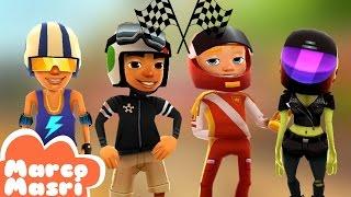 Subway Surfers: RACING PACK | NICK, ROBERTO, ZOE and PHILIP