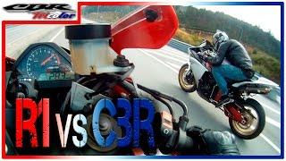 7. RACE - YAMAHA R1 vs HONDA CBR 1000RR
