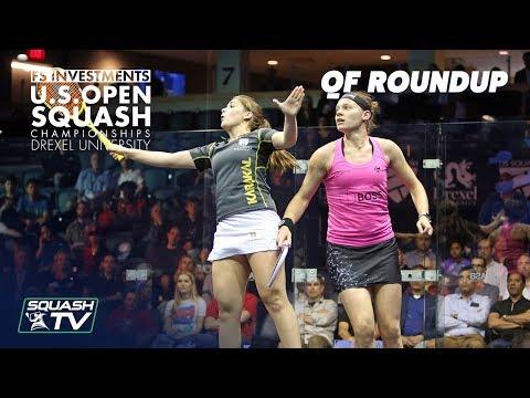 Squash: Women's Quarter Final Roundup Pt.2 - US Open 2018