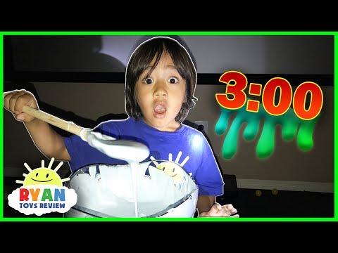 Ryan makes Fluffy Slime! (видео)