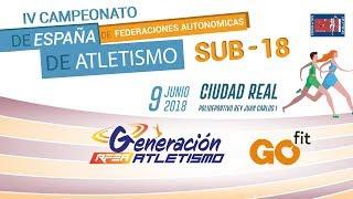 CAMPEONATO DE ESPAÑA DE FEDERACIONES AUTONÓMICAS SUB18