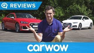 Video Audi RS5 2018 review - worth £13k more than an S5?   Mat Watson Reviews MP3, 3GP, MP4, WEBM, AVI, FLV Agustus 2019