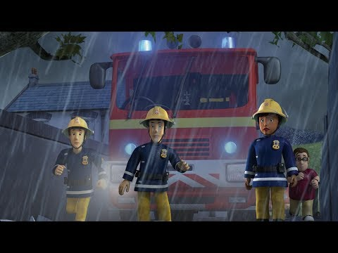 Fireman Sam US New Episodes HD | Pontypandy's mega thunderstorm | Episodes Compilation 🚒🔥Kids Movies