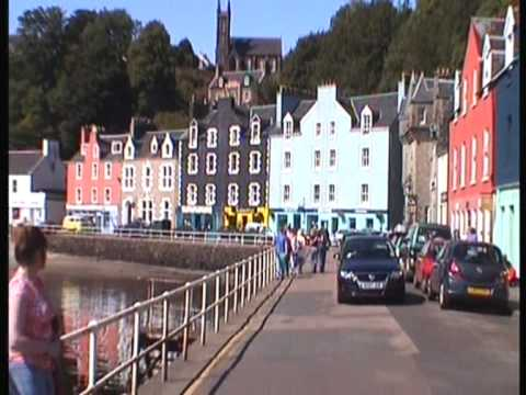 Mull - Tobermory was built as a fishing port in the late 18th century and is now the main village on Mull. It is a picture-postcard of a place with the brightly pai...