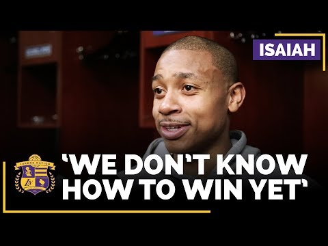 Video: Isaiah Thomas On Lakers Closing Out Games: 'We Don't Know How To Win Yet'