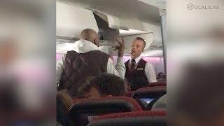 PLANE FIGHT, EMERGENCY LANDING AND MAN ARRESTED – Virgin Atlantic Flight