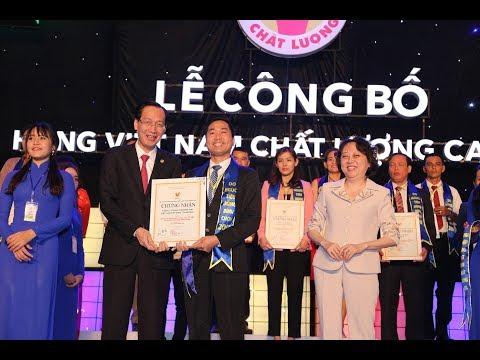 DASAVINA vinh dự đạt danh hiệu Hàng Việt Nam chất lượng cao 2017