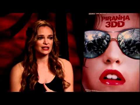 Danielle Panabaker Talks Piranha 3DD