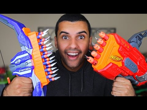 Video MOST DANGEROUS NERF MOD OF ALL TIME!!! (EXTREME NERF GUN MOD!!) *4.0 BONUS EDITION* download in MP3, 3GP, MP4, WEBM, AVI, FLV January 2017