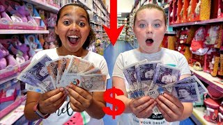 Video TIANA SPENDS £50 IN 5 MINUTES!! SLIME TOY HUNT CHALLENGE! MP3, 3GP, MP4, WEBM, AVI, FLV Juli 2018