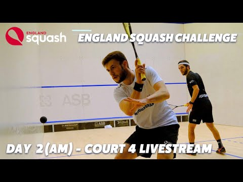 AJ Bell England Squash Challenge - Court 4 - Day 2 - Morning