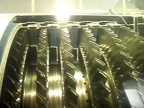 Funcionamiento de una turbina