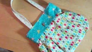 Video A fun reversible handbag for you to sew by Debbie Shore MP3, 3GP, MP4, WEBM, AVI, FLV September 2018