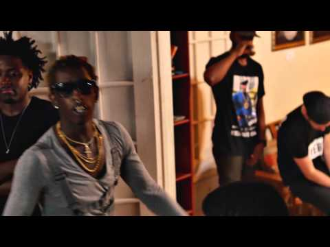 Visit a trap house in the video for 'Again' by Young Thug featuring Gucci Mane