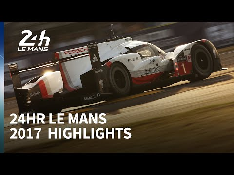 2017 Le Mans 24 Hours highlights (видео)