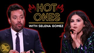 Video Selena Gomez and Jimmy Cry While Eating Spicy Wings (Hot Ones) MP3, 3GP, MP4, WEBM, AVI, FLV Agustus 2019