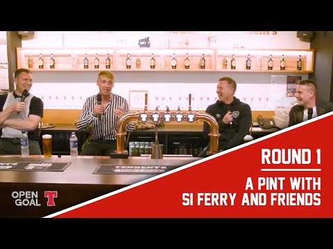 A Pint With Si Ferry & Friends | Gary Locke, Paul Slane, Kevin Kyle - Live From The Tennent's Story
