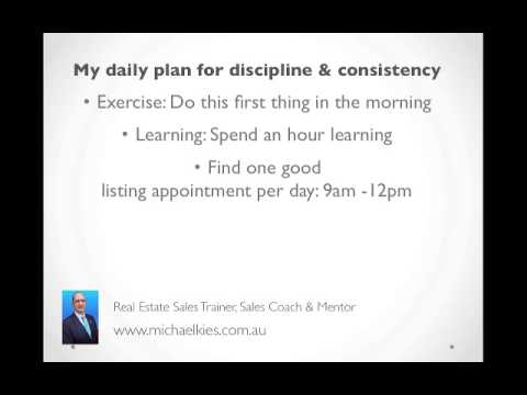 A Real Estate Agent's Daily Schedule