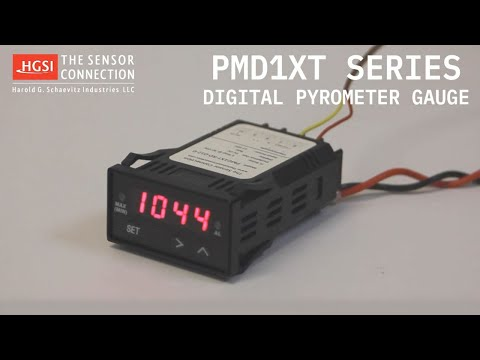 Overview of PMD Series Digital Pyrometer Gauge