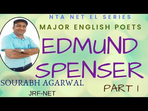 Major English Poets: Edmund Spenser Part I