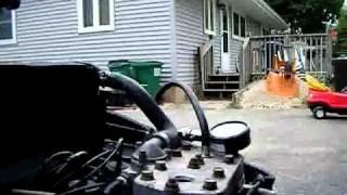 10. Arctic Cat 5000 El Tigre Left Cylinder Compression Test 150 PSI