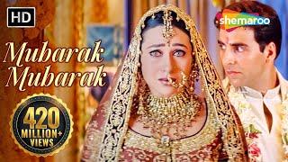 Video Mubarak Mubarak - मुबारक हो तुमको ये शादी | Haan Maine Bhi Pyaar Kiya | Bollywood Shaadi Songs MP3, 3GP, MP4, WEBM, AVI, FLV Desember 2018
