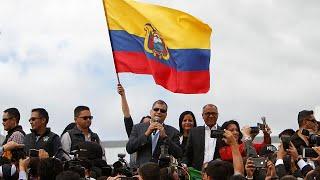 Rafael Correa ha lasciato l'Ecuador per il Belgio, paese d'origine della moglie, dove inizierà la sua nuova vita. Prima di partire...
