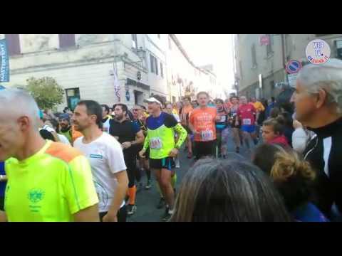 Partenza Mezza Ecomaratona del Chianti - 2016