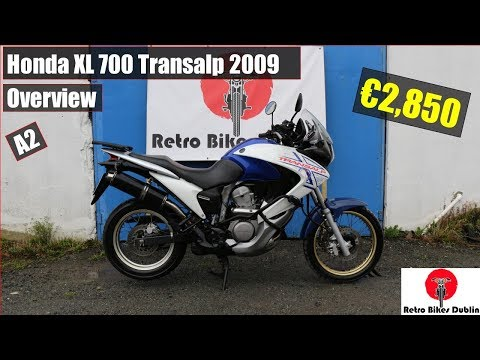 Honda XL 700 Transalp 2009 Overview / Review