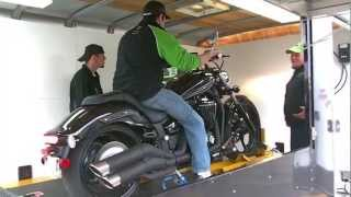 10. First Dyno Run at Flemington Yamaha on a 2011 Yamaha Stryker