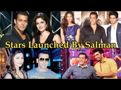 10 Bollywood Stars Launched By Salman Khan!