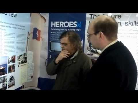 Mark Reckless MP visits Medway Queen Project