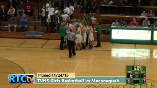 TVHS Girls Basketball vs Maconaquah