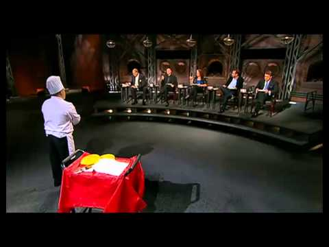 So this guy tricked billionaires into eating dog food on Dragons Den