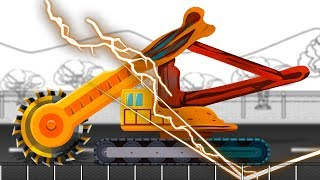 Video Good And Evil | Trencher | Toy Truck | Construction Vehicle MP3, 3GP, MP4, WEBM, AVI, FLV November 2018